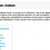 Wiki pagina Score bijhouden