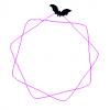 Fladderende vleermuis