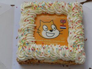 scratch meet up taart